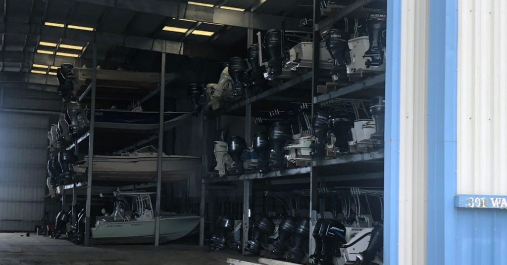 winter boat storage options