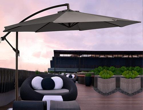 cheap cantilever pool umbrella