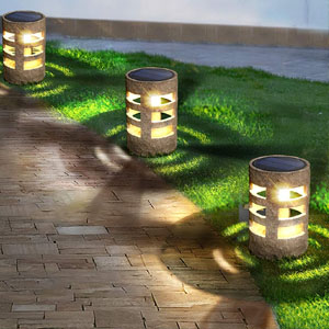 solar pathway lights for pool