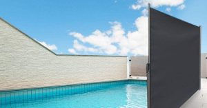 pool and hot tub privacy screen