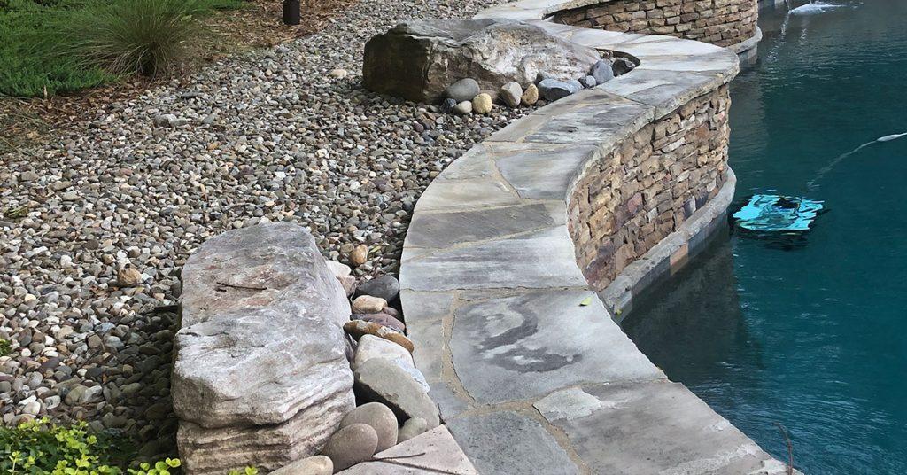 Pool landscaping idea