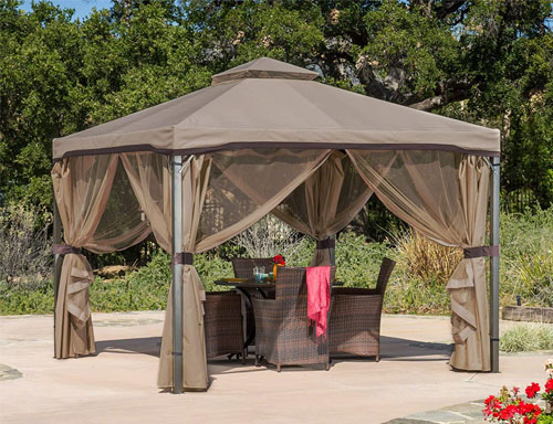 great deal furniture outdoor fabric and steel canopy