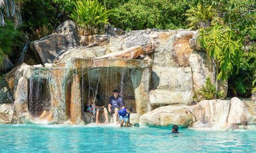 pool grotto