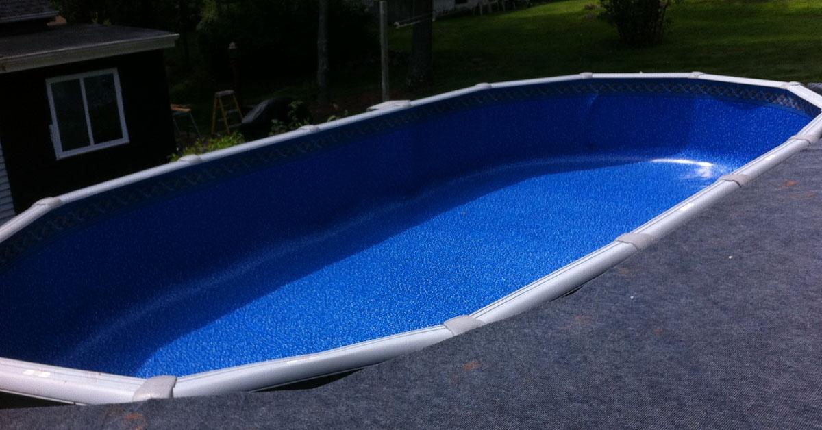 vinyl inground pool liner