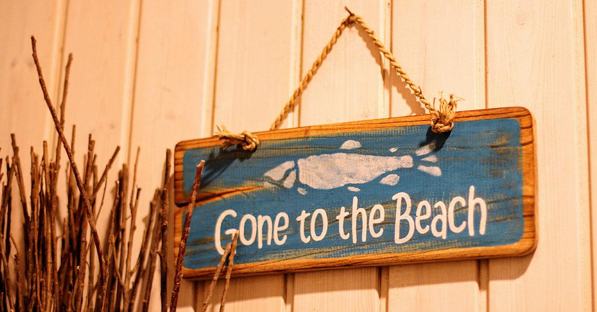 best beach house signs