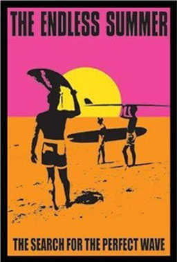endless sumer poster for beach house