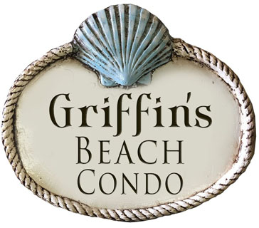 personalized engraved beach sign