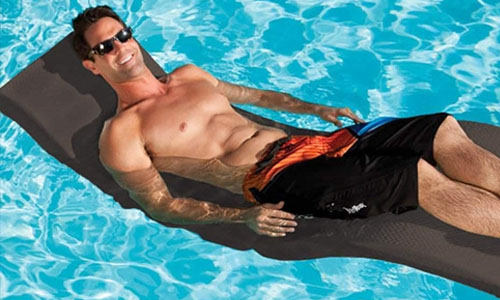 SwimWays floating chaise lounge pool chair