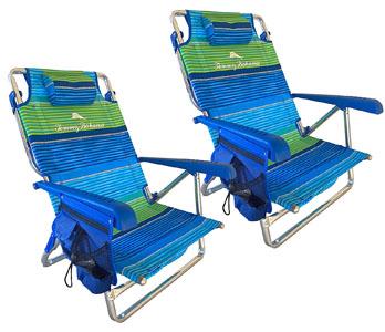 Tommy Bahama nautical beach chair set