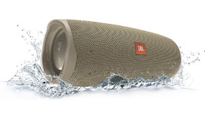 JBL waterproof and sandproof Bluetooth speaker for the beach