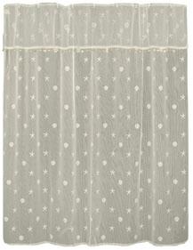 Seashell shower curtain set