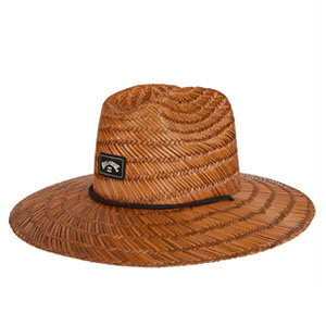 Classic Billabong men's straw hat